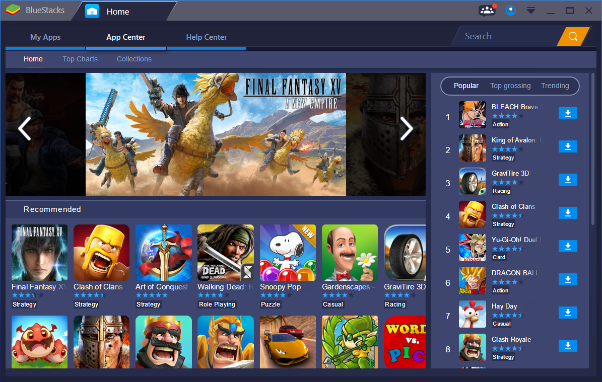 Download BlueStacks for PC Windows 10/ 8.1/ 8/ 7/ XP Laptops
