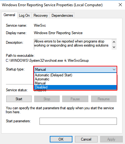 How to Fix WerFault exe Application Error in Windows 10