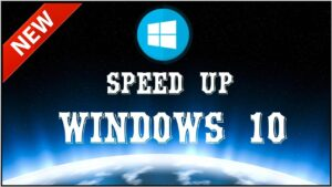 speedup your windows